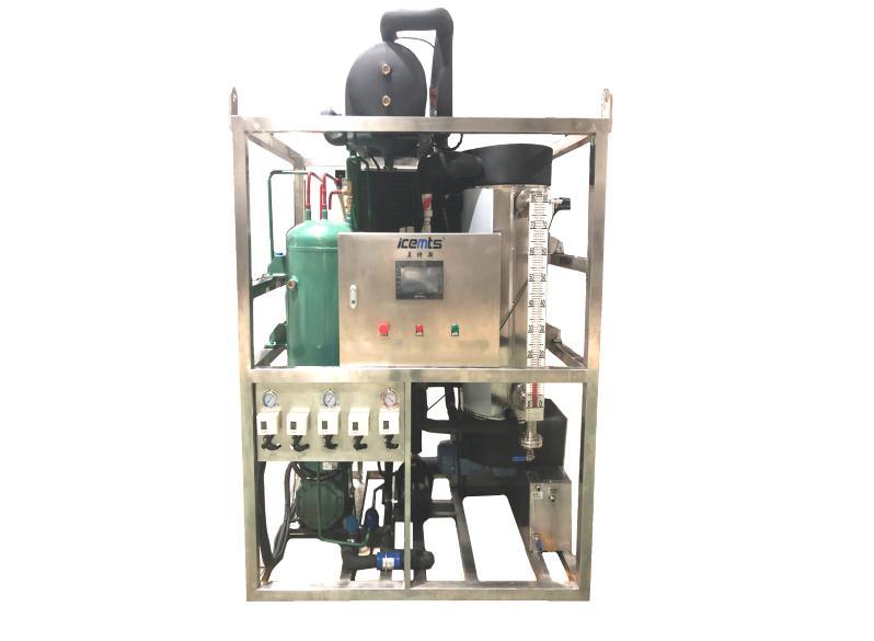 1吨小型商业管冰机